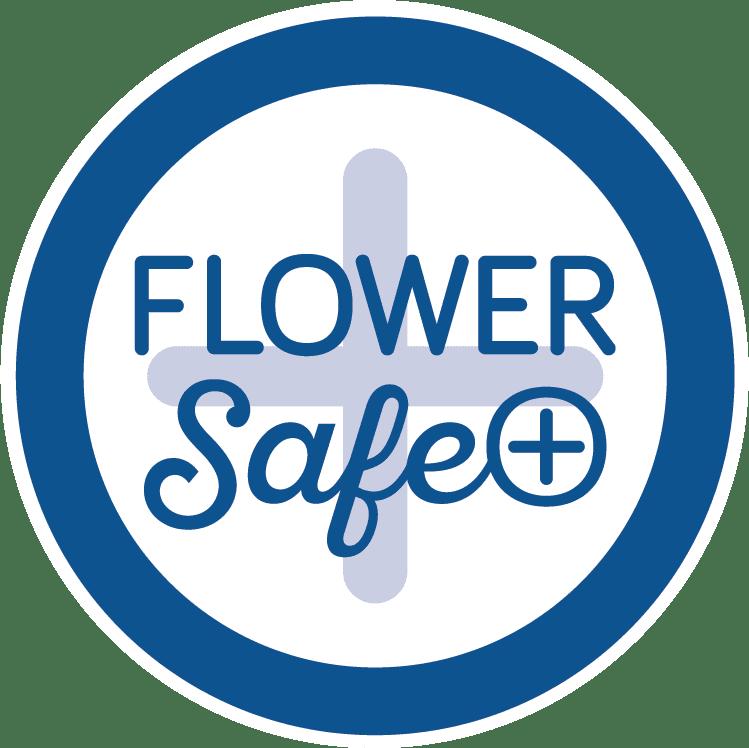logo flower safe